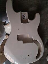 White P Bass Guitar Body  AB390