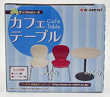 Miniatures Cafe Table And Chair New Version  - Re-ment , h#ok