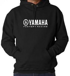 Yamaha Factory Racing Logo Hoodie Motorbike Motorcycle Pullover Best Top