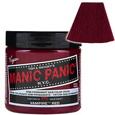 Vampire Red Manic Panic Classic Hair Dye Bright Colour Punk Rockabilly Gothic
