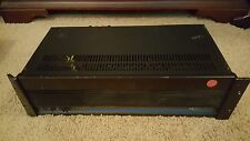 QSC AUDIO MODEL 1400 STEREO POWER AMPLIFIER, FOR PARTS OR REPAIR