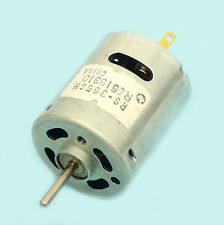 MOTEUR ELECTRIQUE COURANT CONTINU MABUCHI RS-365SH 12V (0-20V) 12,7W AVEC NOTICE