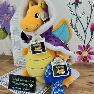 Dragonite Pokemon Plush Build A Bear Doll Cap Hat Scarf Nintendo BAB New