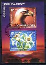Oiseaux Bulgarie (3) bloc oblitéré