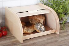 Raw non dipinto Bin BOX storeage Roll legno 18x30x40cm in Legno-grande