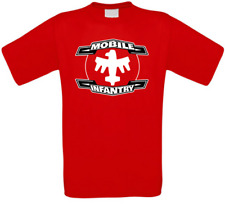 Starship Troopers Mobile Infantry culto Movie t-shirt todos los tamaños de nuevo