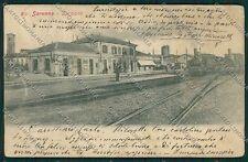 Varese Saronno Stazione Treno cartolina EE6541