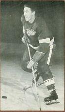 Marcel Pronovost, NHL Hockey Player, Vintage Postcard