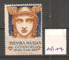 CINDERELLA -AB04- SWEDEN - SVENSKA MASSAN -  GOTEBORG 1935