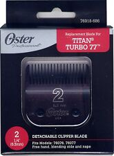 Genuine OSTER Diamox Blade Size 2 For 76 Turbo 77 Titan 76918-686 ANTIMICROBIAL