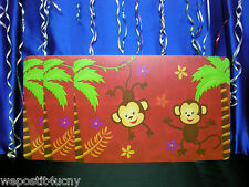 3 PlaceMats For Kids 3 Monkeys Placemats for Girls or Boys
