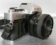 Minolta XG-1 XG-7 or XG-M Manual Camera 50mm F2 Lens for Photography Students