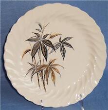 1 ROYAL CHINA BAMBOO Dinner Plate swirl tiki style USA