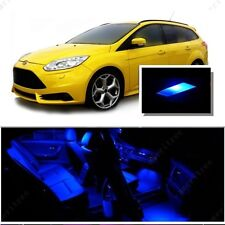 For Ford Focus 2012-2016 Blue LED Interior Kit Package