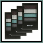 4 X Revlon Colorstay 12 Hour Eye Shadow Quad + Free Shipping ❤ 380 Silver Fox