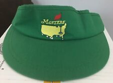 American Needle Masters Strapback Green Golf Visor Made In USA