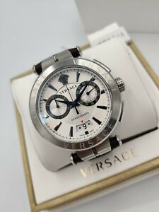 VERSACE Aion VE1D01120 Luxury Men's Dress Watch Chronograph 1Yr Warranty