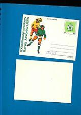 Undated Football Plain back Postcard - Poland UEFA youth Competition