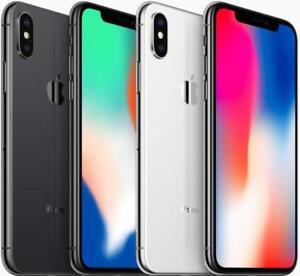 Apple iPhone X 64GB 256GB Factory Unlocked Phone