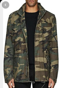 Alpha Industries & Barney's X Military Green Camoflage Print Who's Your Daddy