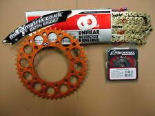52T O Ring Chain Or Renthal Sprocket Kit KTM SX EXC SXF 125 200 250 300 350 450