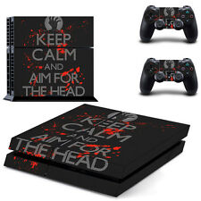 Ps4 skin keep Calm Design lámina sticker PlayStation 4 Vinyl recubrimiento protector-Matt