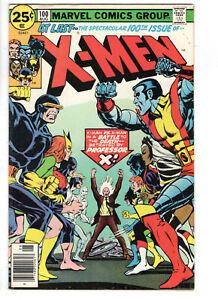 UNCANNY X-MEN #100 (1976) - GRADE 6.0 - NEW VS OLD TEAM - CHRIS CLAREMONT STORY!