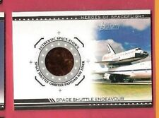 SPACE SHUTTLE ENDEAVOUR ORBITER PAYLOAD BAY LINER RELIC #dSSE2 09 HERITAGE CARD