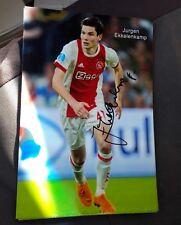 Signiertes Foto Jürgen Ekkelenkamp Niederlande Ajax Amsterdam  NEU