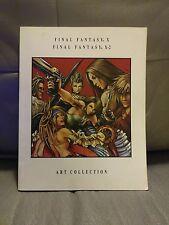 RARE Final Fantasy X / X-2 Collector's Art Book