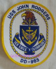 PUS448 - US NAVY USSJOHN RODGERS DD-983 PATCH