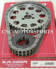 SA Gear 78500TR SB Chevy Race Roller Billet Timing Chain THRUST BEARING 3 Keyway