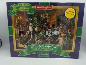 Washington's 1000 Piece Limited Edition Christmas Puzzle New + Sealed Free Post