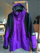Vintage gore tex North Face purple Mountain Jacket M Black Nupste Medium