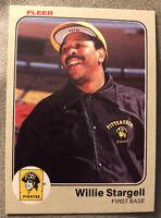 1983 Fleer Willie Stargell Baseball Card #324 Pirates HOF High Grade