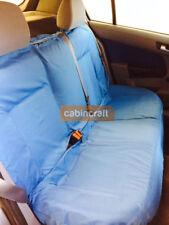 Universal Waterproof Car Rear Back Seat Cover Pet Heavy Duty Protector Blue