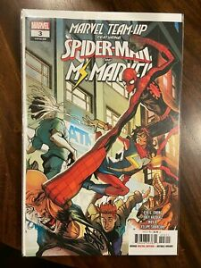 Marvel Team Up (2019) #3 Covers A and B  Ms. Marvel Khan NM Beauties 2 Book Lot