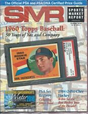 SMR 2010 OCT Sports Market Report 1960 Yastrzemski Registry James Bond 1984 OPC