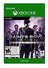 Saints Row el tercer Remasterizado XBOX ONE * leer descripción *