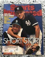 Derek Jeter Autographed Sports Illustrated Magazine JSA Certifed
