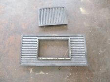 81-93 DODGE RAM D150 RAMCHARGER DASH DIGITAL CLOCK TRIM BEZEL OEM