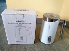 elektrischer Milchaufschäumer + Edelstahl / weiß + 300ml + 500w + Zubehör + NEU