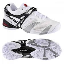 BABOLAT PROPULSE 3 TENNIS SHOES WHITE BLACK ANDY RODDICK Men 12.5 uk-12 euro 47