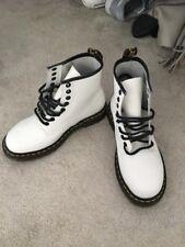 White Doc Martins Size 4 New Condition
