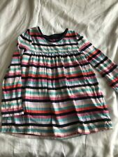 GAP GIRLS TUNIC TOP - SIZE 5 YEARS - LONG SLEEVED - STRIPED