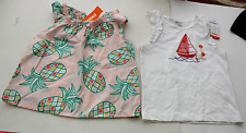 GYMBOREE Pineapple SAIL BOAT 2 Tops GIRL'S 5 NWT $45