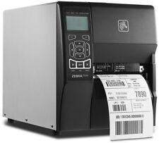 Zebra ZT230 Thermal USB LAN Serial Label Printer P/N: ZT23042-T01200FZ