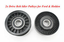 2xDrive Belt Idler Pulley For Ford Falcon EF EL AU BA BF FG Fairlane & Holden AU