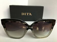 New DITA PRADIS-F 22016-F Gray 60mm Oversized Women's Sunglasses Japan