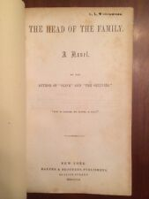 RARE 1852 The Head of the Family, Author of Olive & Ogilvies